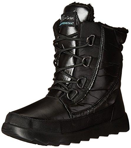Stiefelleten/Boots Damen, farbe Schwarz , marke SKECHERS, modell Stiefelleten/Boots Damen SKECHERS 48730S DOUBLE GREAT Schwarz Schwarz