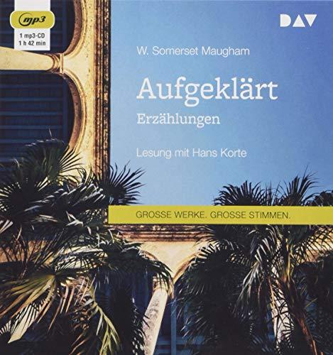 Somerset Cd (Aufgeklärt. Erzählungen: Lesung mit Hans Korte (1 mp3-CD))