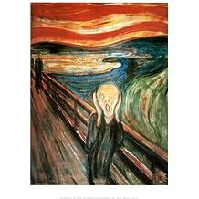 Lámina 'El grito', de Edvard Munch, Tamaño: 36 x 28 cm