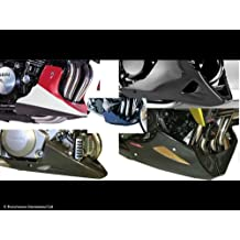 Yamaha FZ-6 04 – 06/Fazer 600 04 – 06/FZ-6 FAZER S2 07 – 09/carbono look-gold malla – Belly Pan