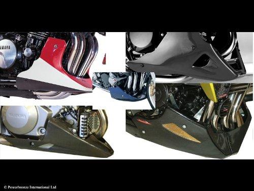 Preisvergleich Produktbild Kawasaki ER-5 / carbon look - Bauch Pfanne