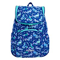 Smiggle Good Vibes Access Kids School Backpack for Girls & Boys with Laptop Compartment