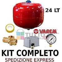 Kit para autoclave compuesto de hidroesfera, conector de 5vías, manómetro, teflón e interruptor de botón de tipo Square D