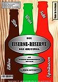 Alles Gute zum 50 Geburtstag - Eiserne Rerserve - Rohling zum selbst Befüllen incl. Schraubendreher & Bügelsäge, einfach Schrauben lösen und Getränk einlegen! Die neue Geschenkidee mit über 170 verschiedene Varianten -