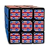 Puerto Rico Flag Small - 3 X 2_974 3x3 Magic Speed Cube Smooth Speed...