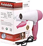 Shreeji Ethnic 1000W Professional Foldable Hair Dryers for Women