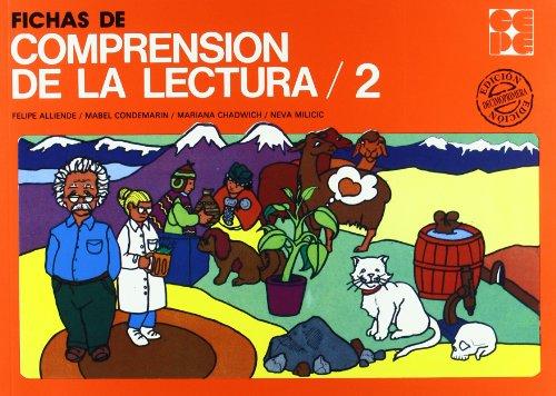 Fichas de comprensión de la lectura 2 por Mabel Condemarín