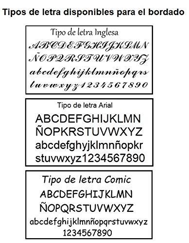 197e757fc Mochila o Bolsa Infantil lencera Personalizada con Nombre en plastificado  Celeste