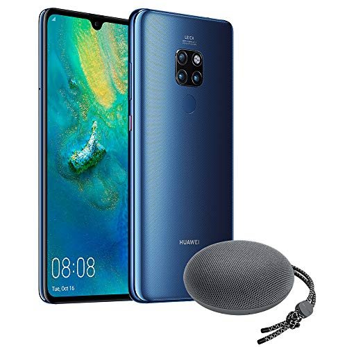 Foto Huawei Mate 20 (Blue) Smartphone + Speaker Bluetooth, 128 GB+4GB RAM, Display...