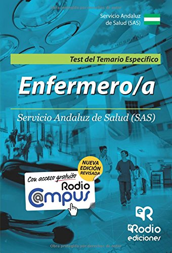 Diplomados en Enfermeria del SAS. Test del Temario Especifico (OPOSICIONES)