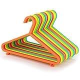40 Kinder Kunststoff-Kleiderbügel-Set