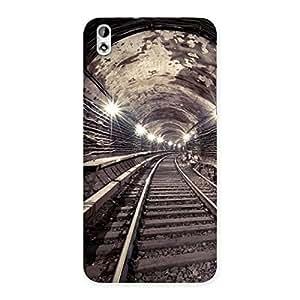 Premium Track in Tunnel Back Case Cover for HTC Desire 816g
