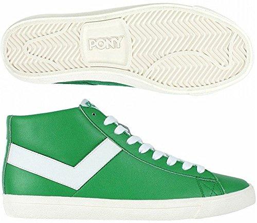 Herren Pony (Pony , Herren Sneaker grün grün)