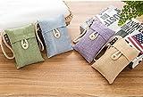 amasawa Air Bag bambù carbone Deodorizer Deodorante per frigorifero portatile, Purificante con armadi, armadietto, auto, Scarpe, cucine, cantine, Camera da letto (0.1*4)