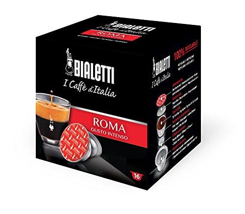 Pack 16 Kaffeekapseln Roma starken Geschmack I Kaffee in Italien