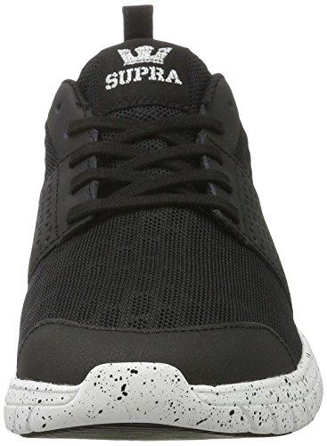 Supra Herren Scissor Sneaker Schwarz (nero-bianco Macchiolina)