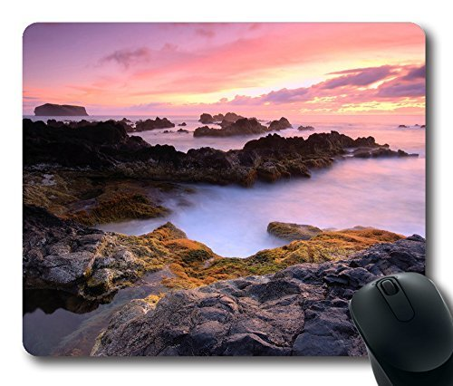 azores-islands-portugal-atlantic-ocean-mouse-pad-oblong-shaped-mouse-mat-design-natural-eco-rubber-d