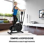Klarfit-Orbit-Crosstrainer-Ergometro-Trainer-Ellittica-Computer-di-Allenamento-Manubrio-Regolabile-in-Altezza-Telaio-in-Acciaio-Pedali-Antiscivolo-Max-100-kg