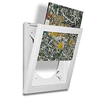 Art Vinyl Play & Display Record Frame (White)