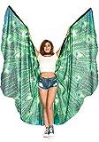 Leg Avenue - Alas de plumas de pavo real