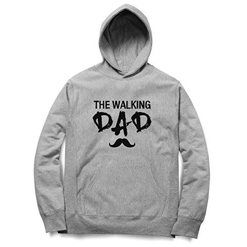 The Walking Dad Felpa Con Cappuccino / Hoodie Unisex Spedizione Veloce / S M L XL XXL dimensioni