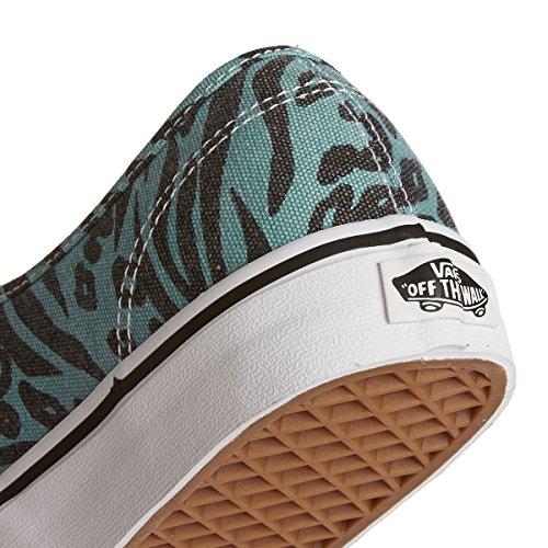 Vans AUTHENTIC, Unisex-Erwachsene Sneakers Blue