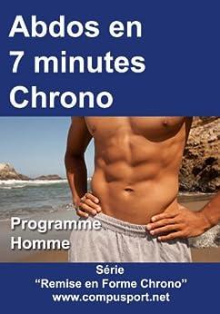 Abdos en 7 Minutes Chrono, Programme Homme (Remise en Forme Chrono t. 1) par [Paris, Dominique ]