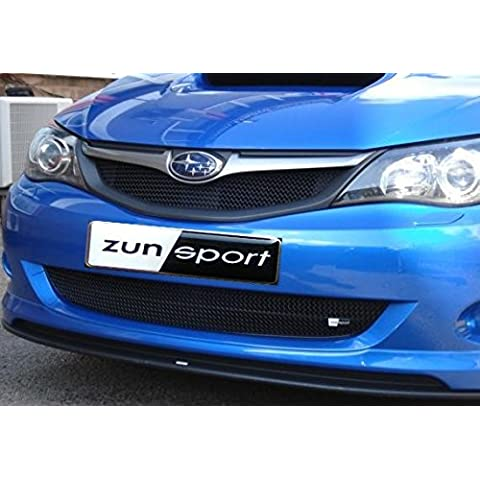 Subaru Impreza WRX 2008 MY - Full Grille Set - Black finish (2008 onwards)