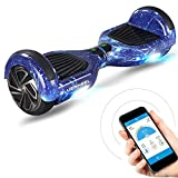 """Vincitore test* Bluewheel Hoverboard Elettrico HX310s, Hover Scooter Elettrico a Due Ruote 6.5"""", Smart Self Balance Board Elettrico con Bluetooth Speaker, Funzione APP e Fari a LED Induttivi"""