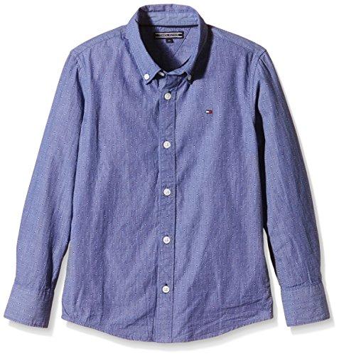 Tommy-Hilfiger-Dobby-Shirt-LS-Camisa-para-Nios