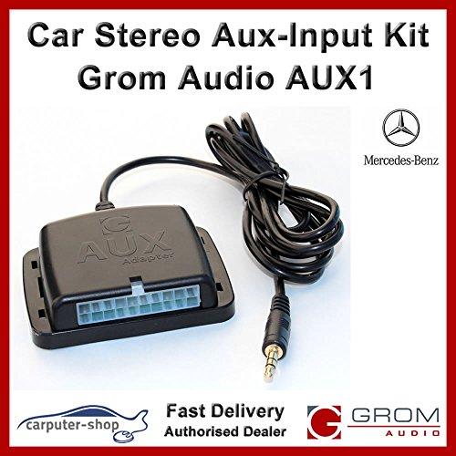 GROM audio AUX1 Aux-Input Kit ausiliario Interface Adapter per Mercedes