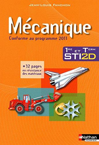Mcanique - 1re et Tle STI2D
