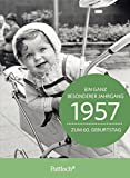 1957 - Ein ganz besonderer Jahrgang Zum 60. Geburtstag: Jahrgangs-Heftchen mit Kuvert -