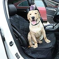 Confortable 24 * 20 * 10cm (noir) Coussin de siège de voiture for animaux de compagnie, couverture de siège de voiture for siège de siège avant for chien à une place, pliable, protection for co-conduc