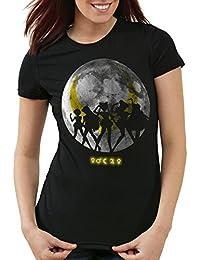 style3 Sailor Senshi T-Shirt Femme pierre de lune moon luna mars planète anime