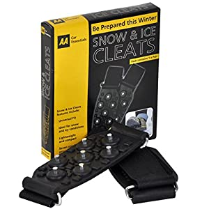 51uJz6wBneL. SS300  - AA - Pair of Steel Spikes Ice and Snow Anti-Slip Grips Traction Cleats