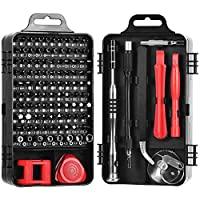 Precision Screwdriver Set,ShowTop 110 in 1 Magnetic Screwdriver Repair Tool Kit for iPhone Series/Mac/iPad/Xbox Series/PS3/PS4/Nintendo Switch/Eyeglasses/Watch,Cellphone/PC/Electronic