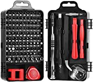 Precision Screwdriver Set,ShowTop 110 in 1 Magnetic Screwdriver Repair Tool Kit for iPhone Series/Mac/iPad/Xbo
