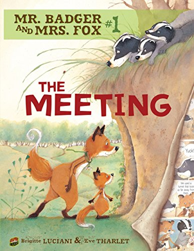 Mr. Badger and Mrs. Fox 1: The Meeting (Comic)