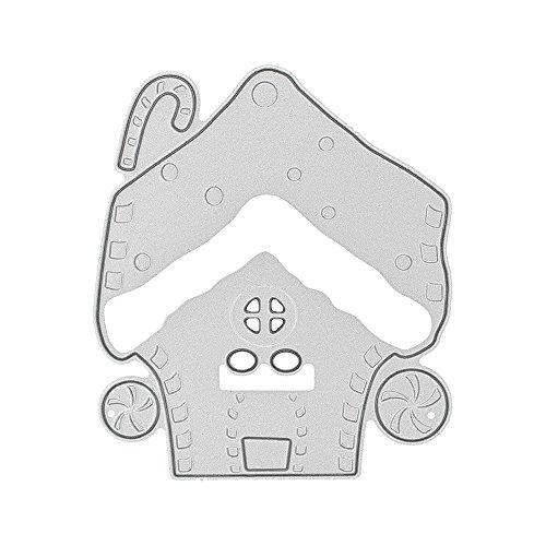 Stanzschablone, Fotopapier, Karten, Handwerk Prägen DIY Herstellung Geburtstag Geschenk, Scrapbooking Prägeschablonen Stanzformen Schablonen Für Scrapbooking 0625058 ()