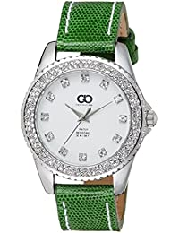 Gio Collection Analog White Dial Women's Watch - AD-0058-D