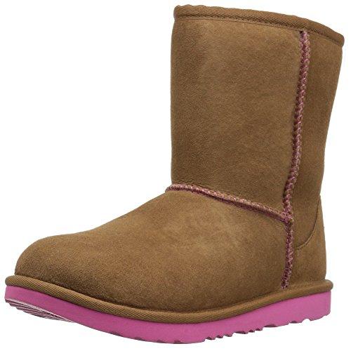 UGG CLASSIC II KIDS Stiefel 2018 chestnut/ pink azalea, 34 (Classic Stiefel Chestnut)