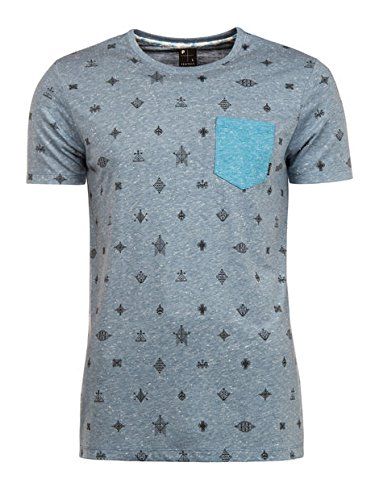 Protest Cardiff t-Shirt Stone Blue L