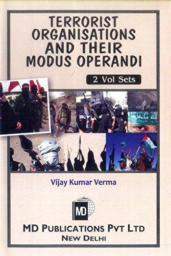 Terrorist Organisations and their Modus Operandi: 2 by Vijay Kumar Verma (Box set, 31 Dec 2009) Hardcover Modu-box