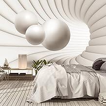 Fotomurales ,,3D Architecture 110' 366cm x 254cm 3 D 3Dbolas del espacio arquitectónico abstracto Papel Pintado Fotomural