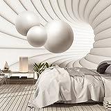 CARTA DA PARATI FOTO ,,3D Architecture 110' 366 x 254cm 3 D 3DAbstract Balls Spazio Architettonico - fotomurali - poster gigante - inclusivo pasta polvere di colla NUOVA XXL
