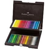 Faber-Castell 110072 Farbstift Polychromos Holzkoffer 72er