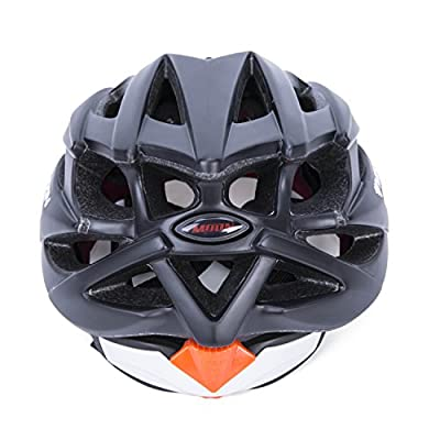 Babimax Adult Cycling Bike Helmet Specialized for Mens Womens Safety Protection (Black, L) from KS-001