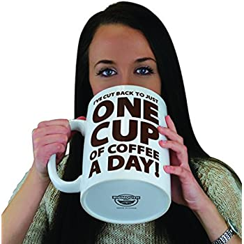 BigMouth Inc One Cup A Day Tasse Géante