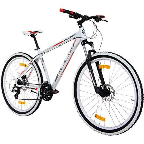 Galano 29 Zoll MTB Infinity Mountainbike Scheibenbremsen Shimano (rot/Weiss)